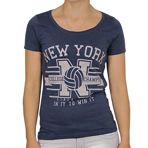 ONLY -  T-shirt - Maniche corte  - Donna Mood Indigo (14-0172al) X-Small