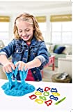 #9: Playking Ratnas Crazy Magic Sand Tub 800 GMS with 12 Moulds and 1 Toy Knife - Pack of 1 Tub, Color May Vary