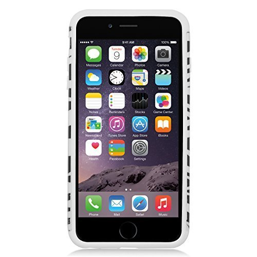 chutz Hard Case für Apple iPhone 6 Plus - Retail Verpackung, Black/White Zebra ()
