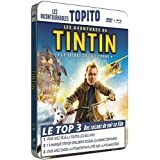 Les aventures de tintin : le secret de la licorne - Boitier métal - Collection TOPITO - Combo BD + DVD