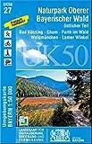 UK50-27 Naturpark Oberer Bayerischer Wald,...