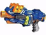 BABY N TOYYS Blaze Storm Motorized Soft Ball Gun - 12 Soft Balls Muulti Color