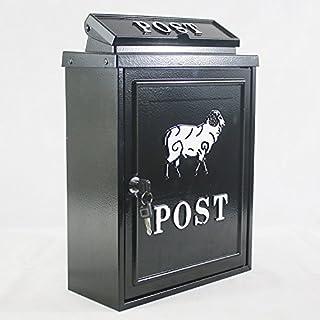 Arboria Wand montiert Gusseisen Mailbox Briefkasten–Schaf Design