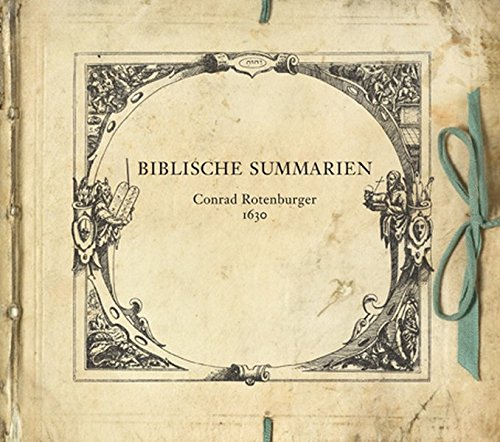 Biblische Summarien: 1630
