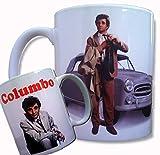 Columbo Tasse, Peter Falk, HOMICIDE Detektiv, Peugeot 403, TV Kult