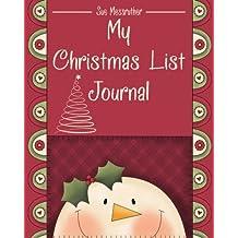 My Christmas List Journal
