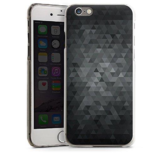 Apple iPhone 5s Housse Étui Protection Coque Triangles Triangles Triangles CasDur transparent