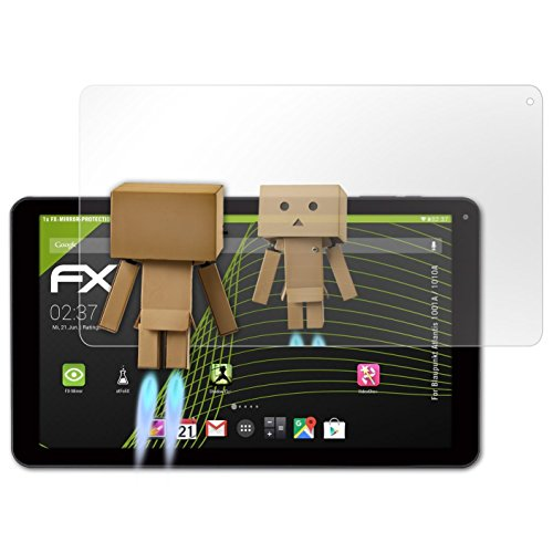 atFolix Bildschirmfolie kompatibel mit Blaupunkt Atlantis 1001A / 1010A Spiegelfolie, Spiegeleffekt FX Schutzfolie