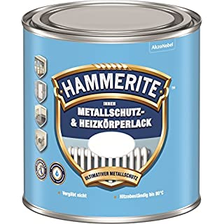 Akzo Nobel (DIY Hammerite) Indoor Protective Metal and Radiator Paint Satin 0.500 L, 5117862