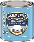 0,5L Hammerite Metallschutzlack und Heizkörperlack innen cremeweiss glänzend