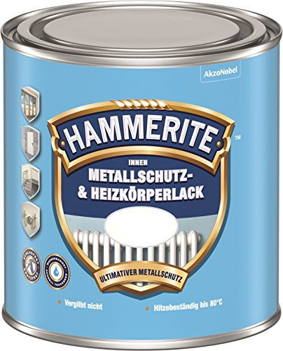 AKZO NOBEL (DIY HAMMERITE) Innen Metallschutz- und Heizkörperlack glänzend 0,500 L, 5117970