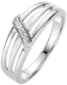 Spirit - New York Damen-Ring Silber rhodiniert Zirkonia weiß Gr.54 (17.2) 93003593540