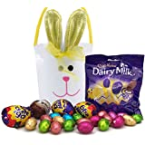 Easter Egg Hunt Bunny Bucket Including Cadbury Creme Eggs, Galaxy Egg, Dairy Milk Eggs & More