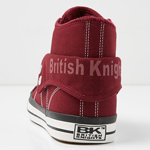 British Knights - Roco, Scarpe da ginnastica Donna Borgogna