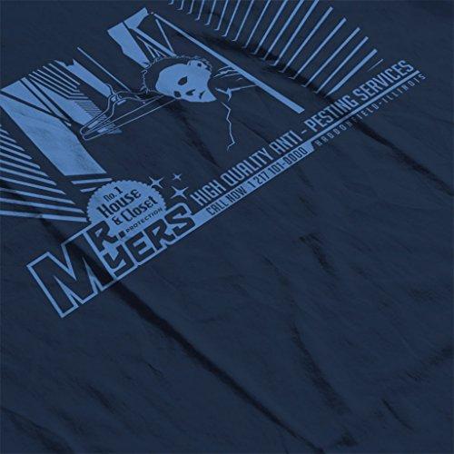 Halloween Mr Myres Pest Control Women's Hooded Sweatshirt Navy blue
