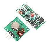 433mhz Transmisor Inalámbrico Y Kit De Módulo Receptor Para 2pcs Bricolaje Arduino
