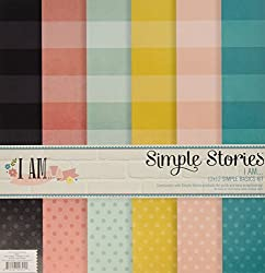 Simple Stories I Am Simple Basics Kit 6 Pack