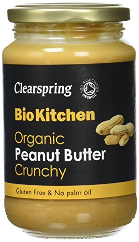 Clearspring Beurre de Cacahuètes Bio Croustillant 350 g - Lot de 3