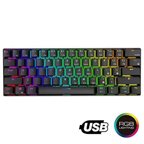 Teclado mecánico, Instago 61 teclas multicolor RGB