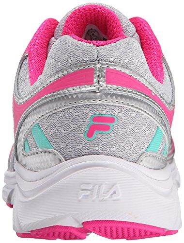 Fila Gamble Laufschuh Silver/Pink Glow/Cockatoo