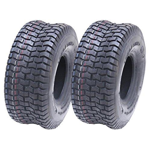 2 - 15x6.00-6 4ply Multi Rasen Rasenmäher 15 600 6 Reifen fahren auf - Deli Tire (Utility Trailer Zum Verkauf)