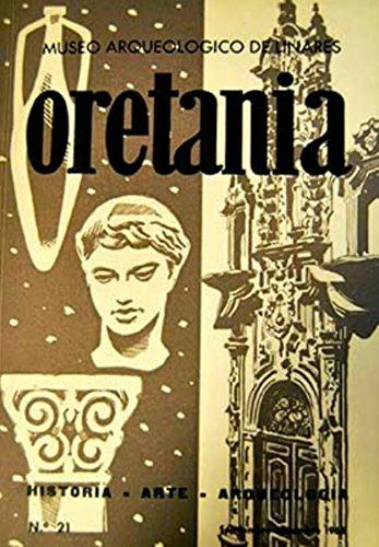 Oretania. Revista de Historia, Arte, Arqueología. Número 21. Año 1965
