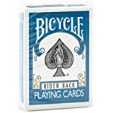 Bicycle 1 Deck of Rider Back Playing Cards (Turquoise)