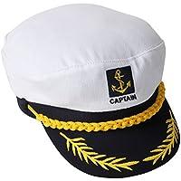 TRIXES Nouveauté Casquette Réglable de Marin Capitaine de Marine