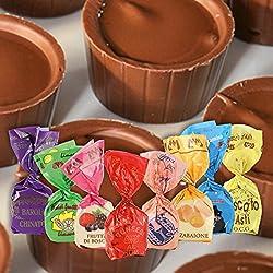 Praline e Cuneesi al liquore - Confezione mista da 10 cioccolatini - 200 g