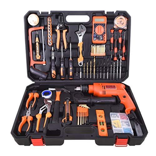 Werkzeugkasten Haushaltswerkzeug-Set Multifunktions-Hardware-Toolbox Elektriker-Kombinationsset für Holzbearbeitung