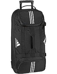 Adidas Team Travel XL V86479 Unisex - Erwachsene Sporttasche / Rollkoffer / Reisetasche / Trolley Schwarz