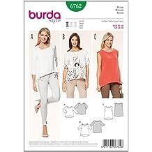 Patrón Burda 6762 Blusa