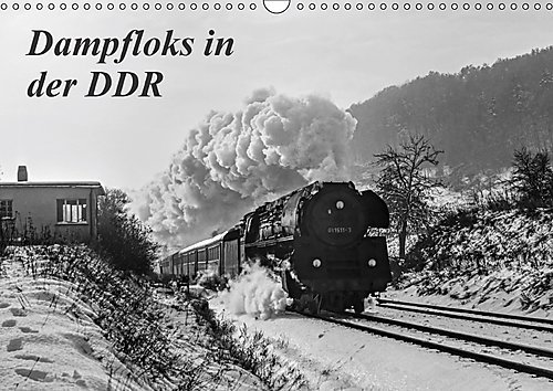 Dampfloks in der DDR (Wandkalender 2017 DIN A3 quer): Einige stimmungsvolle Aufnahmen vom planmäßigen Dampflokbetrieb um das Jahr 1980, in der DDR (Monatskalender, 14 Seiten ) (CALVENDO Technologie)
