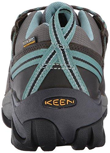 Keen Targhee Ii, Chaussures de Randonnée Basses Femme Black Olive/Mineral Blue