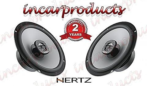 Hertz Uno X165165cm 16,5cm Koaxial 2-Wege Auto Audio Stereo Lautsprecher 220W