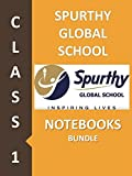 #6: Spurthy Global School Class 1 Notebook Bundle