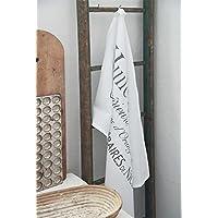 Küchentuch Geschirrtuch 40x60 Spitze Shabby Landhaus Vintage Jeanne d/'Arc Living