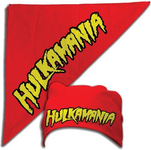 ulk Hogan Hulkamania Rot ()