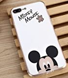 Coque iPhone 7 Mickey Mouse Disney effet miroir