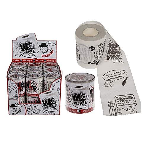 Monsterzeug Lustiges Toilettenpapier mit Witzen, Klopapier mit Klowitzen