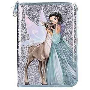 Depesche 10696 - Estuche XXL, Fantasy Model Iceprincess, Aprox. 28 x 20 x 4 cm, Color Azul.