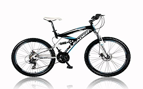 tretwerk DIREKT gute Räder Leader Energy 26 Zoll Mountainbike Schwarz/Blau, Jugend-Fahrrad, Herren-Fahrrad -