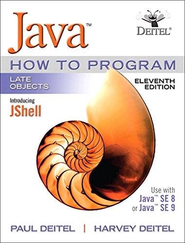Java How To Program, Late Objects por Paul J. Deitel