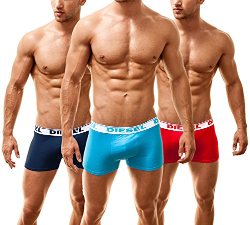 Diesel Herren 3 Pack Boxershorts Shawn Colour 13, Medium