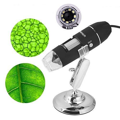 USB Mikroskop Digital Digitales Microscope Kamera 1000 x Vergrößerung Magnification, mit 8-LEDs für Windows Handys