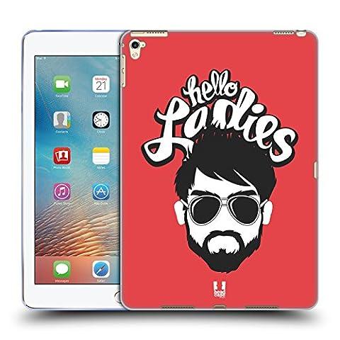 Head Case Designs Bonjour Les Filles Bravade Barbue Étui Coque en Gel molle pour Apple iPad Pro 9.7