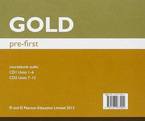 Gold Pre-First Class Audio CDs
