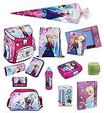 Familando Disney die Eiskönigin Schulranzen Set 17tlg. Scooli Campus Up mit Sporttasche und Schultüte 85cm FRQA8252-GR