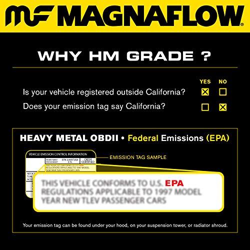 Magnaflow 24398 Direct Fit Catalytic Converter by Magnaflow