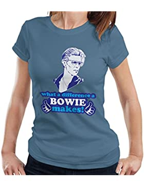 What A Difference A Bowie Makes Women's T-Shirt